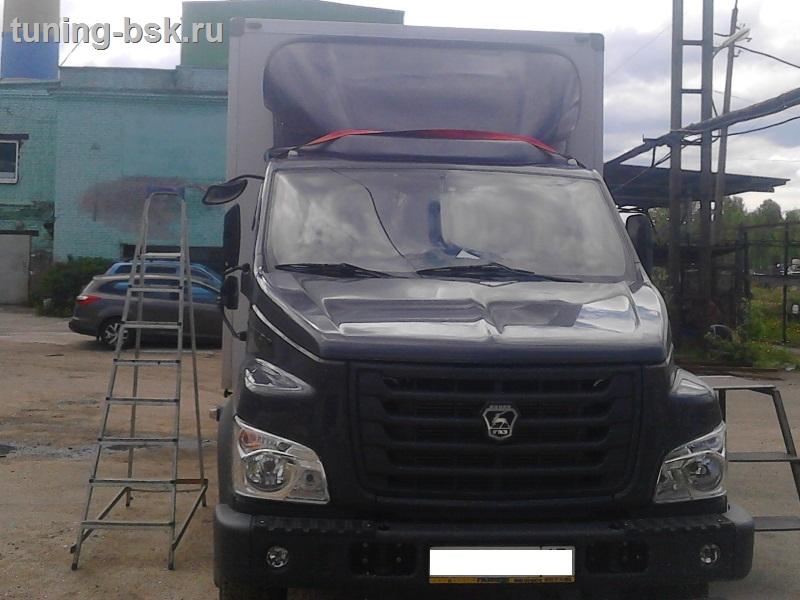 Тюнинг кабины Газон next: накрышный спальник arbi ГАЗавто